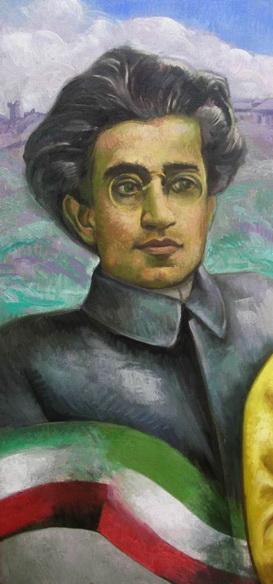 Sergio Michilini, Particolare del RITRATTO DI MICHELE MIMMO, 2012, olio su tela, cm80x100 https://blogosfera.varesenews.it/la-bottega-del-pittore/?p=10764