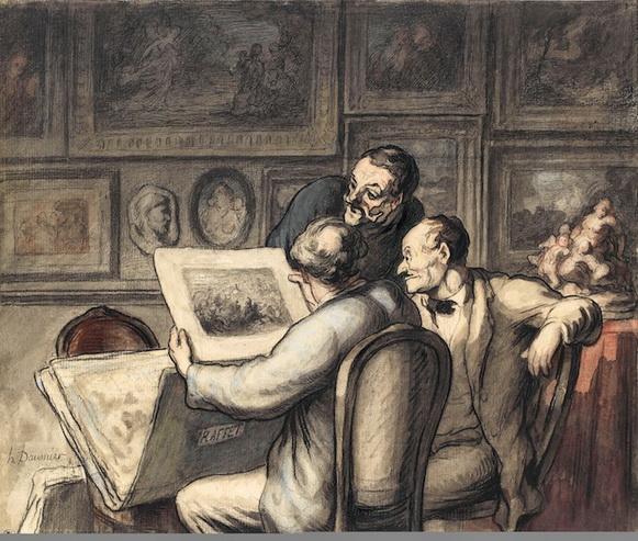 Honor-- Daumier - i critici