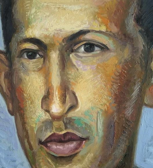 Sergio Michilini, HUGO CHAVEZ JOVEN, detalle