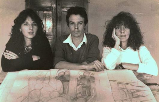 CECILIA HERRERO, DANIEL HOPEWELL y JANET PAVONE,