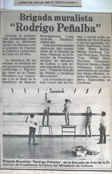 1983 El Nuevo Diario,8 luglio