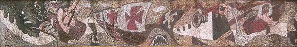 3a -1985-Mosaico-TARIMA-MALECON-San-Carlos-Rio-San-Juan-Nicaragua
