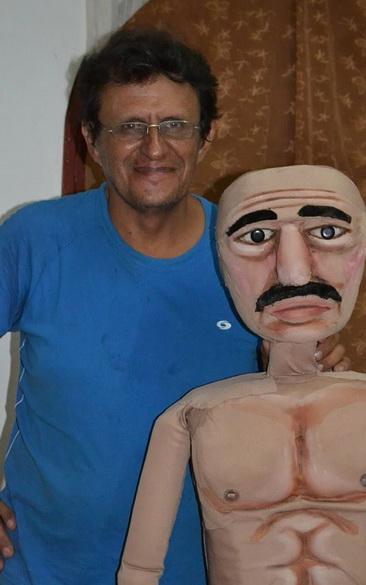 El maestro colombiano-nicaragüense DANIEL PULIDO