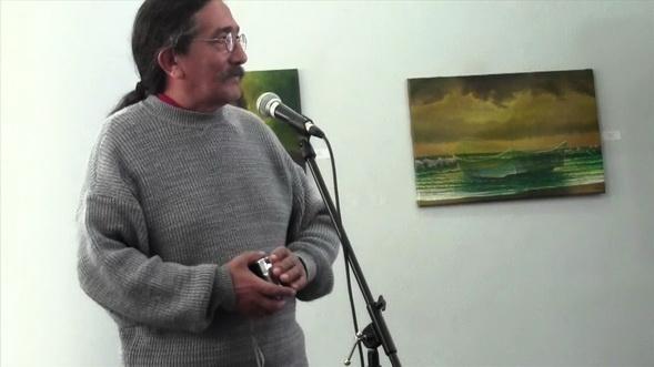 El maestro chileno VICTOR CANIFRU
