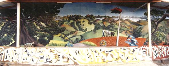 La pintura mural del maestro MAURIZIO GOVERNATORI
