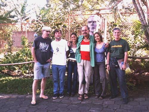 Una delegacion solidaria con el Proyecto CEMOAR de la Asociacion de Amistad Italia Nicaragua