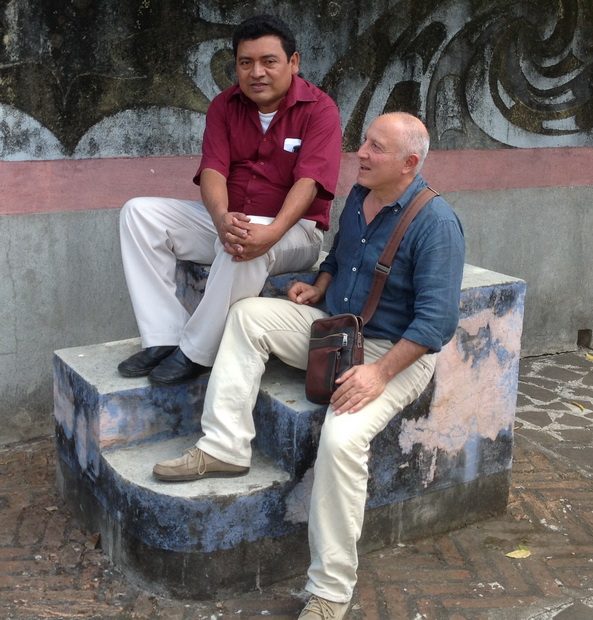 Hoy 2016, los maestros RICARDO GOMEZ y GIANCARLO SPLENDIANI