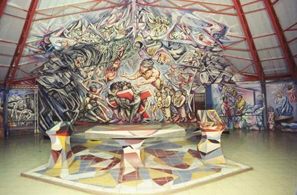 1982-1985 Iglesia Santa Maria de los Angeles, Barrio Riguero, Managua, Nicaragua