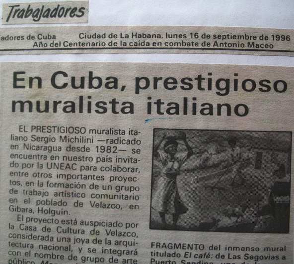 """Periodico """"Trabajadores"""", Cuba, 16 Settembre 1996"""