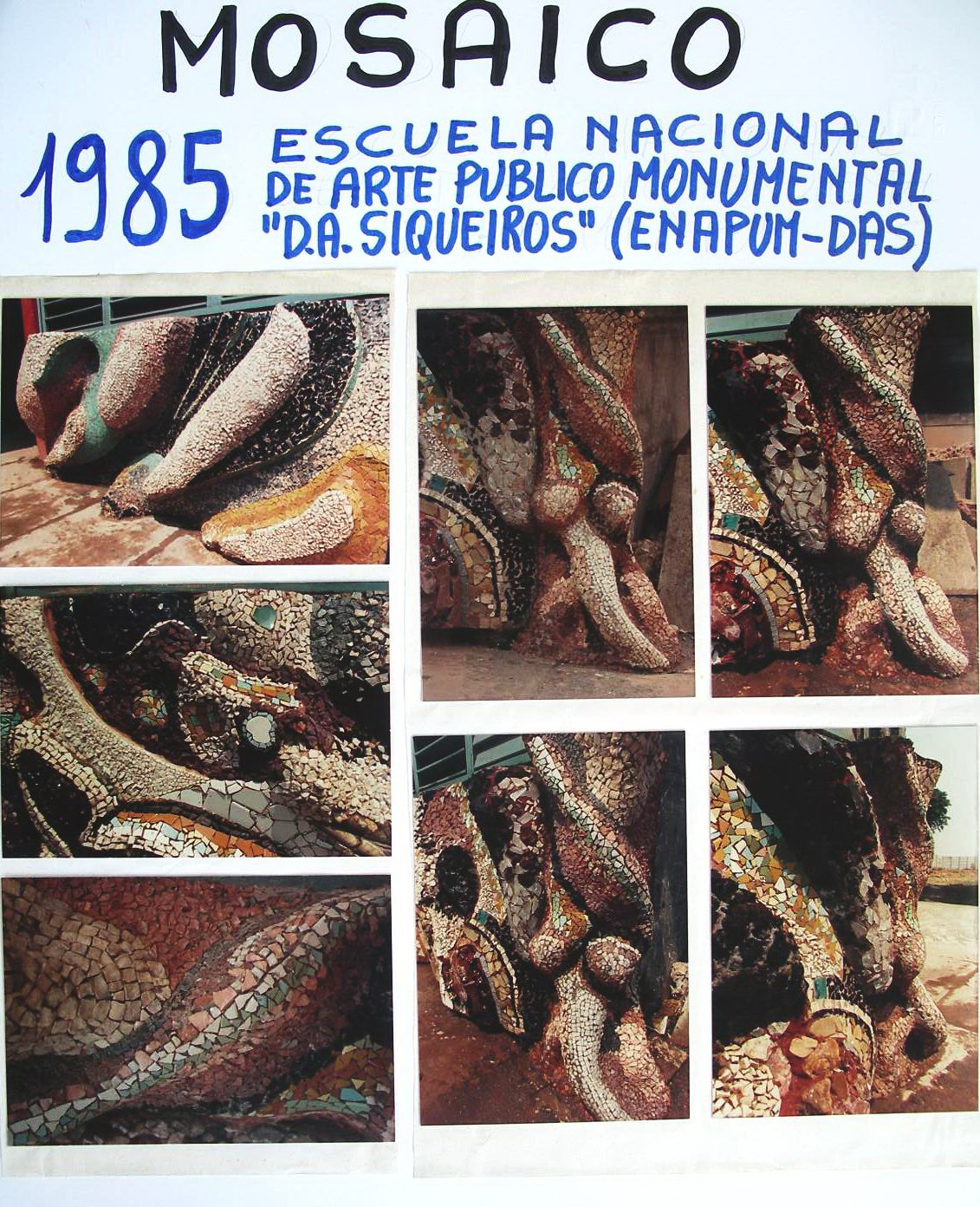 6 - 1985-2 Mosaico nella ENAPUM-DAS
