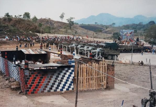 Los muros de la cocina del BLI MAO  en ASTURIAS