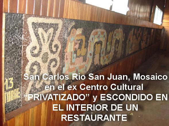 7 - 1985-2f Mosaico ENAPUM-DAS installato in San Carlos, Rio San Juan, Nicaragua
