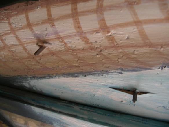 Reconstrucción del techo sin ningun cuido y atención a las pinturas