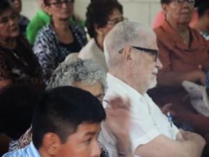 El Padre franciscano Uriel Molina Oliu