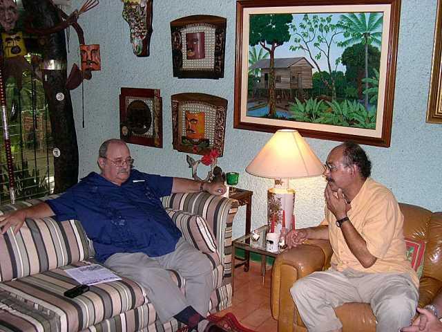 CESARE CIACCI entrevistanndo al PADRE MIGUEL D'ESCOTO BROCKMANN