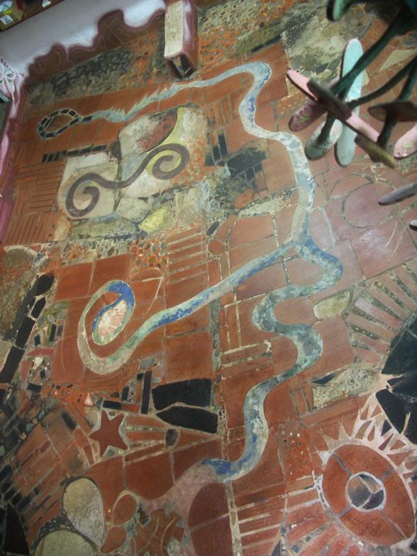 Il pavimednto del mio studio a Managua, Nicaragua