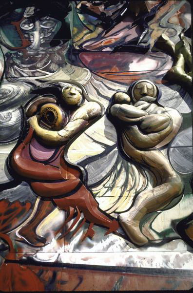 David Alfaro Siqueiros, Poliforum, Mexico D.F.