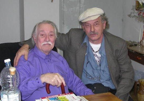 Urbino 2006, con el maestro AURELIO C.