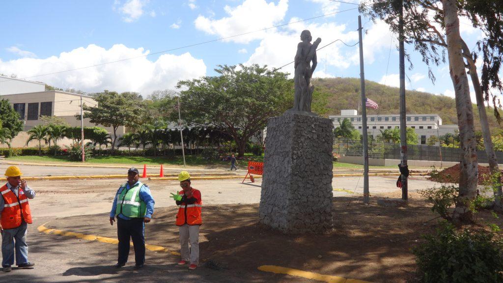 El monumento hoy 4 de febrero de 2017