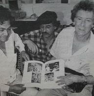 Leonel Cerrato, Sergio Michilini y David Kunzle