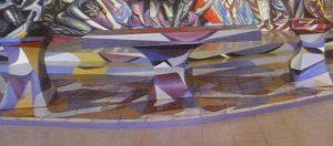 122 - 1982-1985-1r VERSO L'ALTARE MAGGIORE,Chiesa del Barrio Riguero, Managua 2