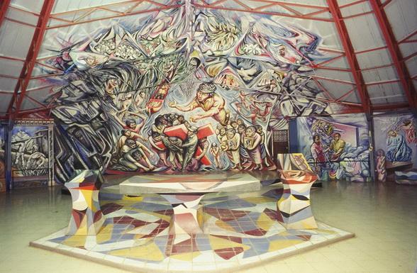 301 - 584 - 1982-85Santa Maria de los Angeles, Barrio Riguero, Managua