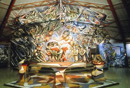 303 - 1982-1985-1s ABSIDE E ALTARE MAGGIORE, Chiesa del Barrio Riguero, Managua