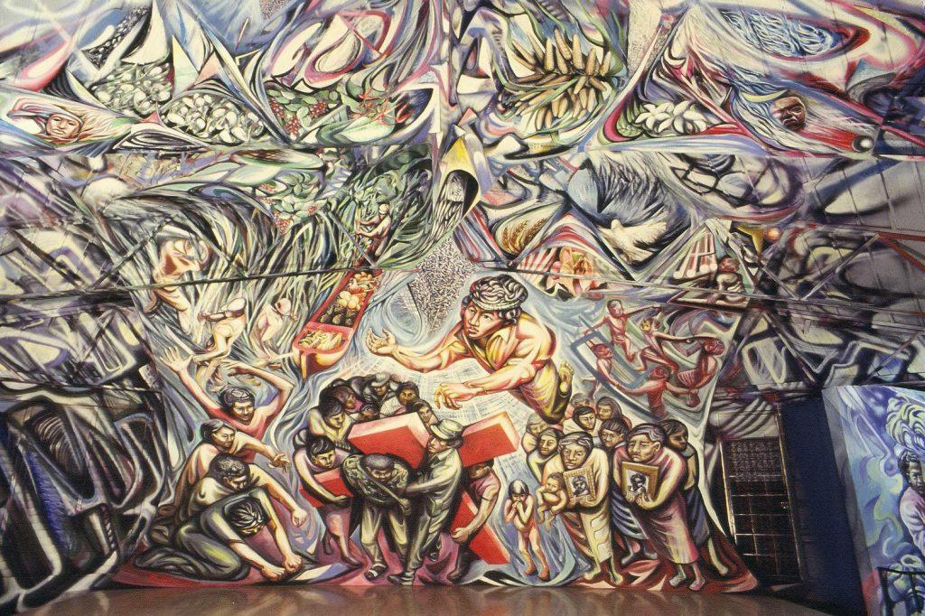 71 1982-85 RESURREZIONE Santa Maria de los Angeles, Barrio Riguero, Managua