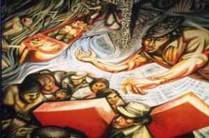83 - 584 - l murale absidale, Chiesa del Barrio Riguero, Managua