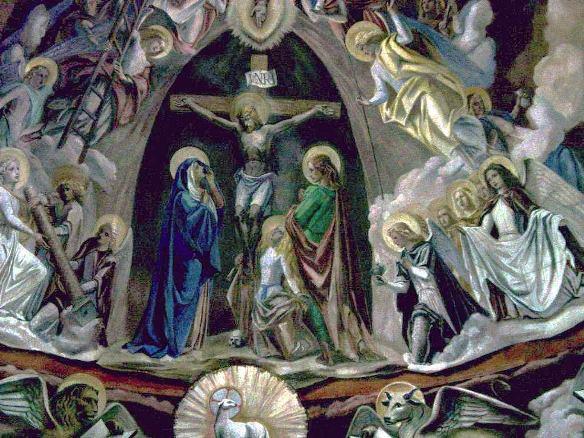 Perignano, Chiesa S.Lucia catino absidale 1941-42