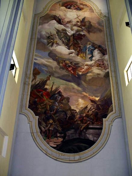 Casciana Terme, Chiesa S.Martino 1945-46