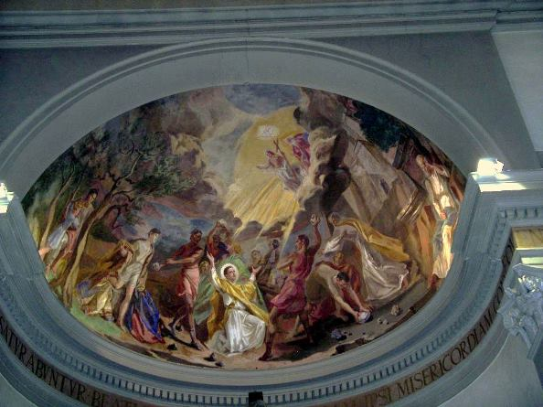 Montopoli, Chiesa SS.Stefano e Giovanni Evangelista,1952