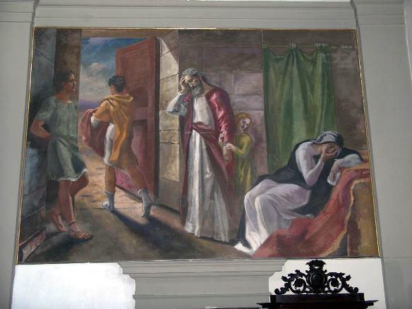 584 3b - Chiesa S.Stefano e S. Giov. Evangelista, Il Figliol Prodigo n.2, 1952