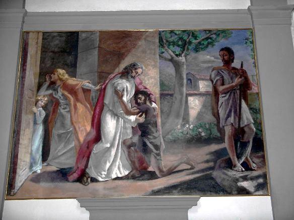 Chiesa S.Stefano e S. Giov. Evangelista, Il Figliol Prodigo n.4, 1952