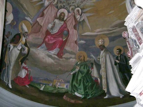 Chianni,Chiesa San Donato, Catino Absidale, particolare