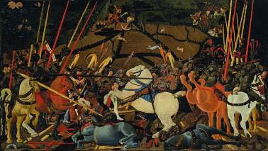 PAOLO UCCELLO, La battaglia di San Romano, 1438