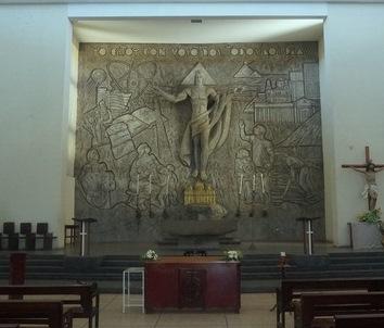 RODRIGO PEÑALBA y FERNANDO SARAVIA, Gaudium et spes, 1969, Iglesia Santo Domingo en Managua
