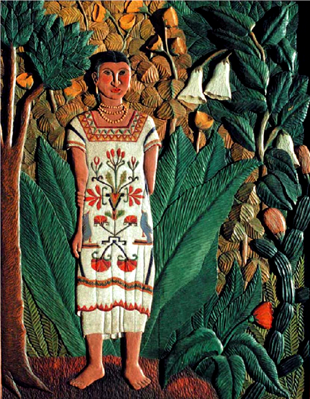 Roberto de la Selva «India de Tehuantepec»