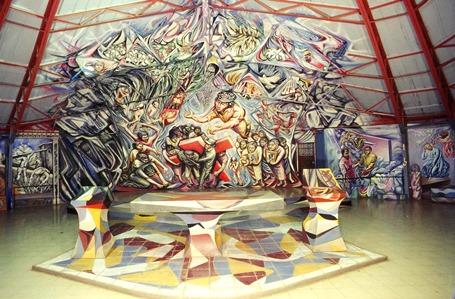 """La Iglesia del Riguero en Managua, también llamada """"LA CATEDRAL DE LOS POBRES"""""""