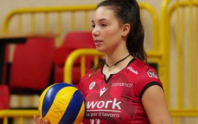 """Chiara Bressan """"promossa"""": una 16enne in prima squadra alla Uyba"""